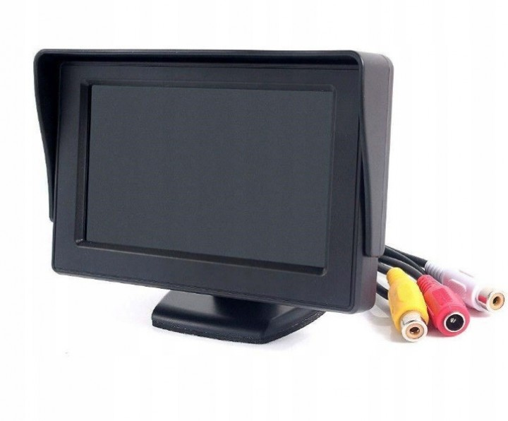 "Monitor do kamer cofania 4,3"" TFT LCD"