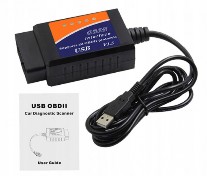 INTERFEJS ELM 327 OBD2 CAN USB